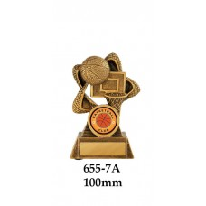 Basketball Trophies 655-7A - 100mm Also 120mm & 140mm