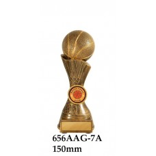 Basketball Trophies 656ASG-7A - 150mm Also 175mm & 200mm