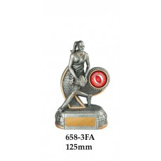 AFL Female Aussie Rules 658-3FA - 125mm Also 150mm 175mm 200mm 225mm 275mm & 375mm