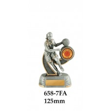 Basketball Trophies Female 658-7FA - 125mm Also 150mm 175mm & 200mm