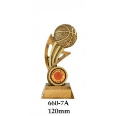 Basketball Trophies 660-7A - 120mm Also 140mm & 155mm