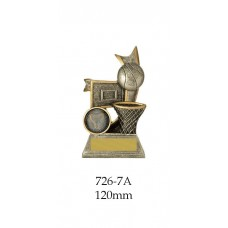 Basketball Trophies 726-7A - 120mm Also 155mm