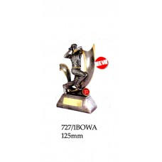 Cricket Trophies 727-1BOWA - 125mm Also 150mm 160mm & 175mm