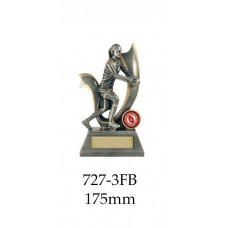 AFL Aussie Rules Female 727-3FB - 175mm Also 200mm & 225mm