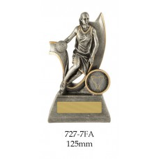 Basketball Trophies Female 727-7FA - 125mm Also 150mm, 175mm & 200mm