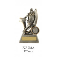 Basketball Trophies Male 727-7MA - 125mm Also 150mm, 175mm & 200mm