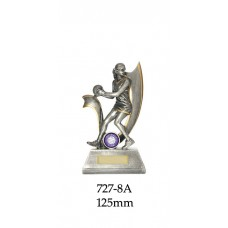 Netball Trophies 727-8A - 125mm Also 150mm & 175mm