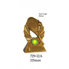 Tennis Trophies  729-12A - 115mm Also 155mm