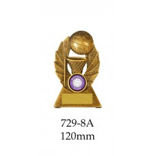 Netball Trophies 729-8A - 120mm Also 140mm & 155mm