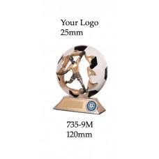 Soccer Trophies 735-9M - 120mm