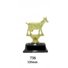 Novelty Trophies Goat 738 - 120mm