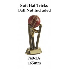Cricket Trophies 740-1A - 165mm