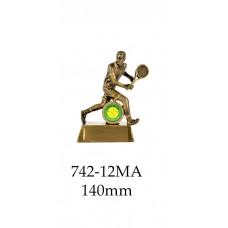 Tennis Trophies  742-12MA - 140mm Also 160mm & 180mm
