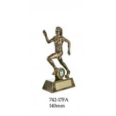 Athletics Trophies Female 742 -17FA  - 140mm, Alo 160mm & 180mm