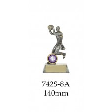 Netball Trophies 742S-8A - 140mm Also 160mm & 200mm