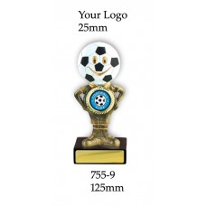 Soccer Trophies 755-9 - 125mm  Also 150mm