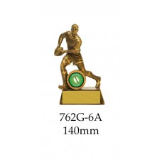 Rugby Trophies 762-6A - 140mm Also 160mm 200mm 225mm 250mm & 275mm