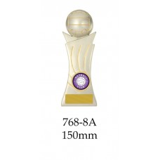 Netball Trophies 768-8A - 150mm Also 175mm 200mm 225mm & 250mm