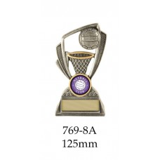 Netball Trophies 769=8A - 125mm Also 135mm & 150mm