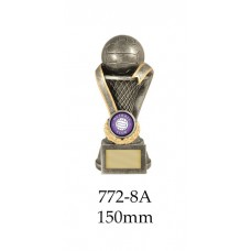 Netball Trophies 772-8A - 150mm Also 175mm & 200mm