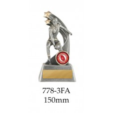 AFL Aussie Rules Female 778-3FA - 150mm Also 175mm 200mm 225mm & 275mm