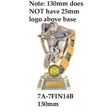 BMX Trophies 7A-7FIN14B - 130mm Also 150mm 180mm & 210mm