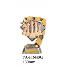 Chess Trophies 7A-7FIN43G - 130mm Also 150mm, 180mm & 210mm