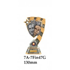 Drama Trophies 7A-7FIN47G - 130mm Also 150mm 180mm & 210mm
