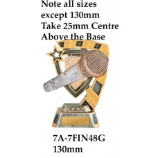 Music Trophies 7A-7FIN48G - 130mm Also 150mm 180mm & 210mm