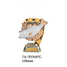 Fishing Trophies 7A-7FIN87G - 130mm Also 150mm 180mm & 210mm