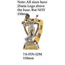 Tennis Trophies 7A-FIN-12M - 130mm Also 150mm 180mm & 210mm