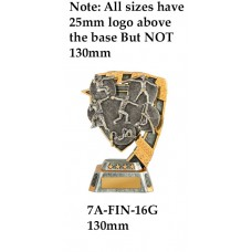 Athletics Trophies 7A-FIN-16G - 130mm Also 150mm 180mm & 210mm