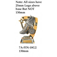 Athletics Trophies 7A-FIN-18G2 - 130mm Also 150mm 180mm & 210mm