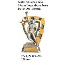 Cricket Trophies 7A-FIN-1FLDM - 130mm Also 150mm 180MM & 210mm