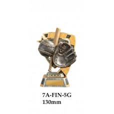 Baseball Softball Trophies 7A-FIN-5G - 130mm Also 150mm 180mm & 210mm