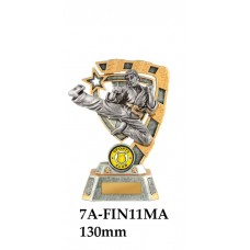 Martial Arts Trophies 7A-FIN11MA - 130mm Also 150mm 180mm & 210mm