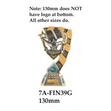 Knowledge Trophies - 7A-FIN39G - 130mm Also 150mm 180mm & 210MM