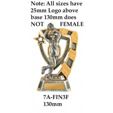 AFL Aussie Rules Female - 7A-FIN3F - 130mm Also 150mm 180mm & 210mm