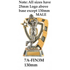 AFL Aussie Rules 7A-FIN3M - 130mm Also 150mm 180mm & 210mm