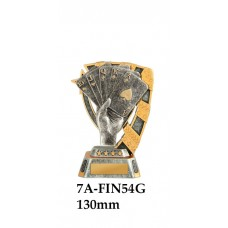 Playing Cards Trophies 7A-FIN54G - 130mm Also 150mm 180mm & 210mm