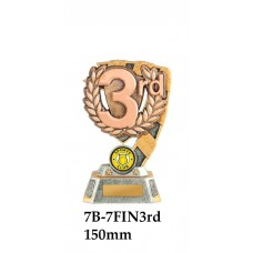 Swimming Trophies 7B-FIN3RD - 150mm