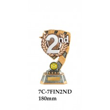 Swimming Trophies 7C-7FIN2ND - 180mm