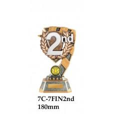 Motorsport Trophies 7C-7FIN2nd - 180mm