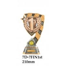 Motorsport Trophies 7D-7FIN1st - 210mm