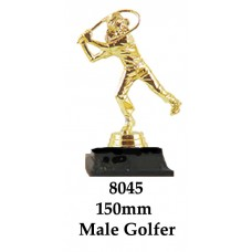 Golf Trophies Male 8045 - 150mm