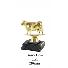 Novelty Trophies Dairy Cow 8123  - 125mm