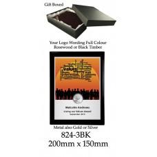 Plaque 824-3BK