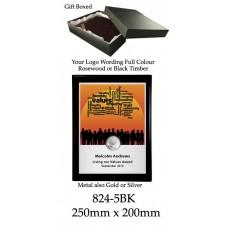 Plaque 824-5BK
