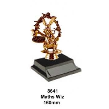 Knowledge Maths Wiz Trophy 8641 - 160mm