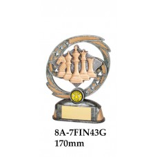 Chess Trophies 8A-7FIN43G - 170mm Also 190mm